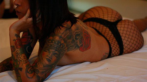 Girl in Brazil Hotel