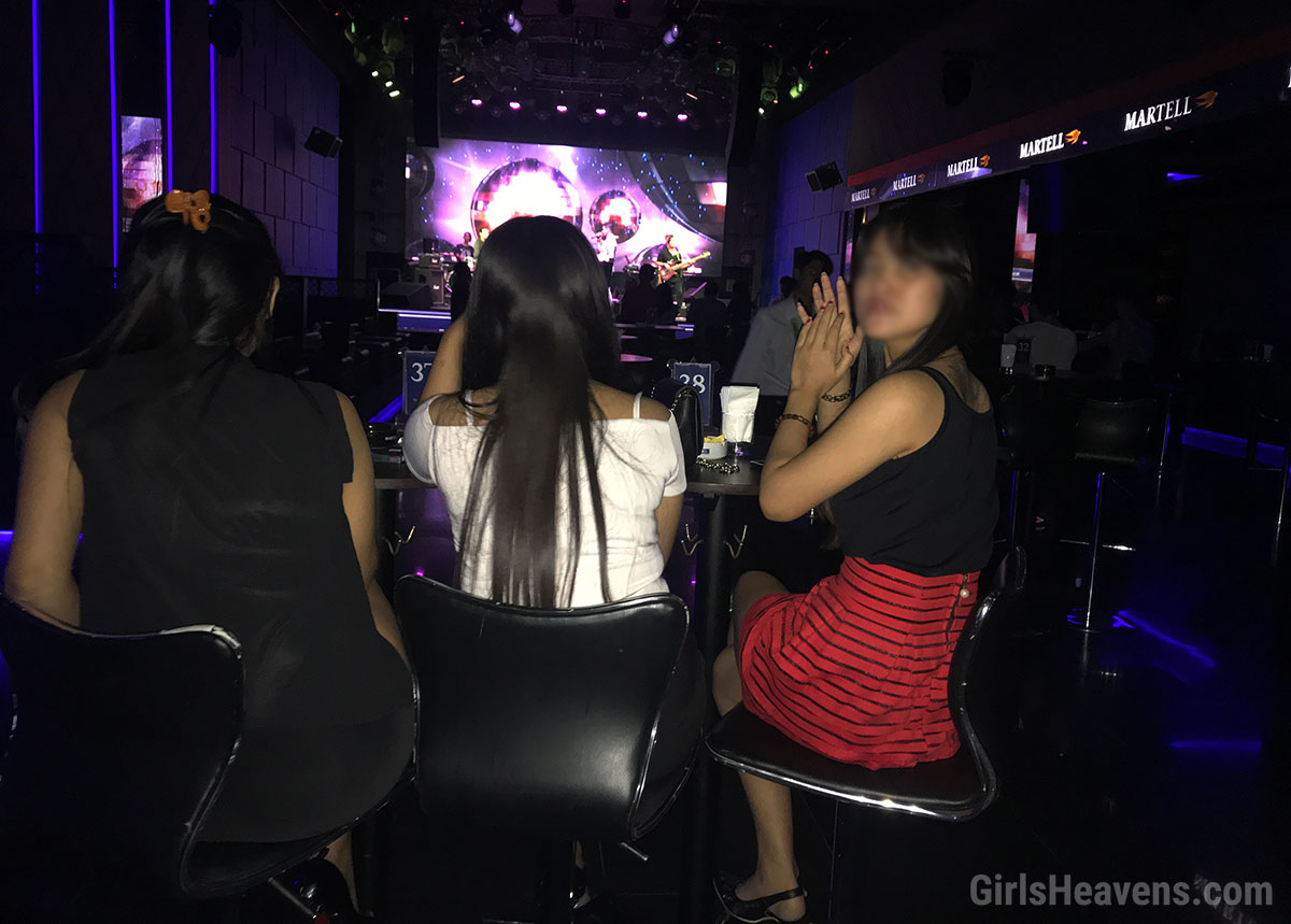 Girls in Jakarta Night Club
