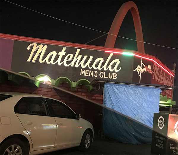 Monterrey Strip Club