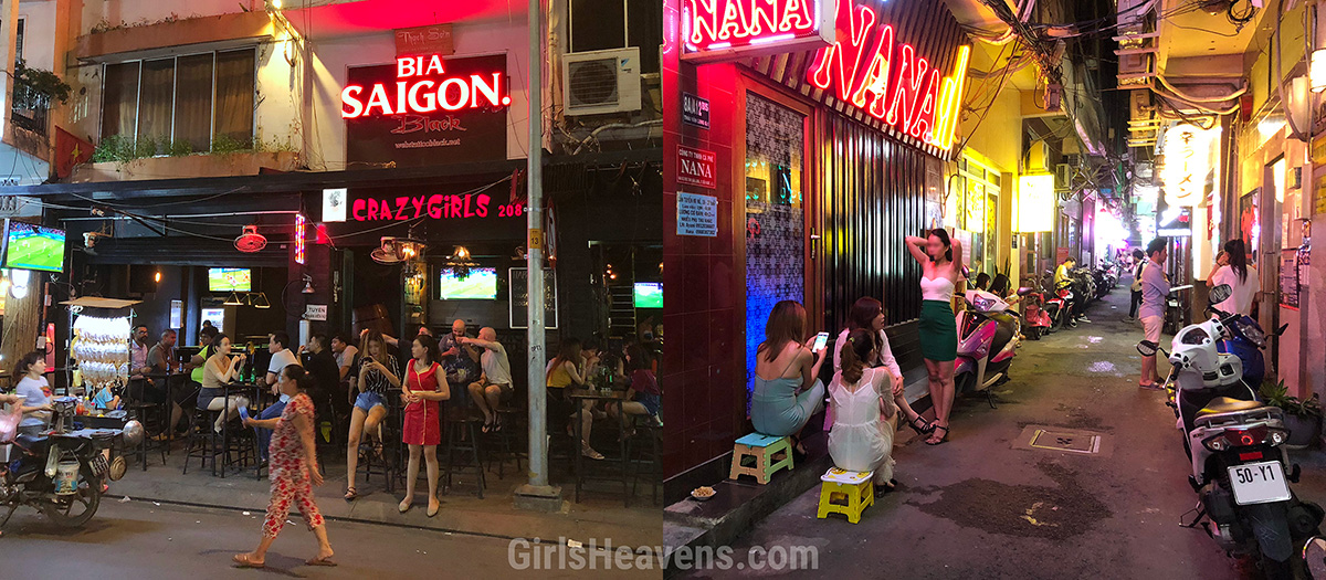 Saigon Girly Bars