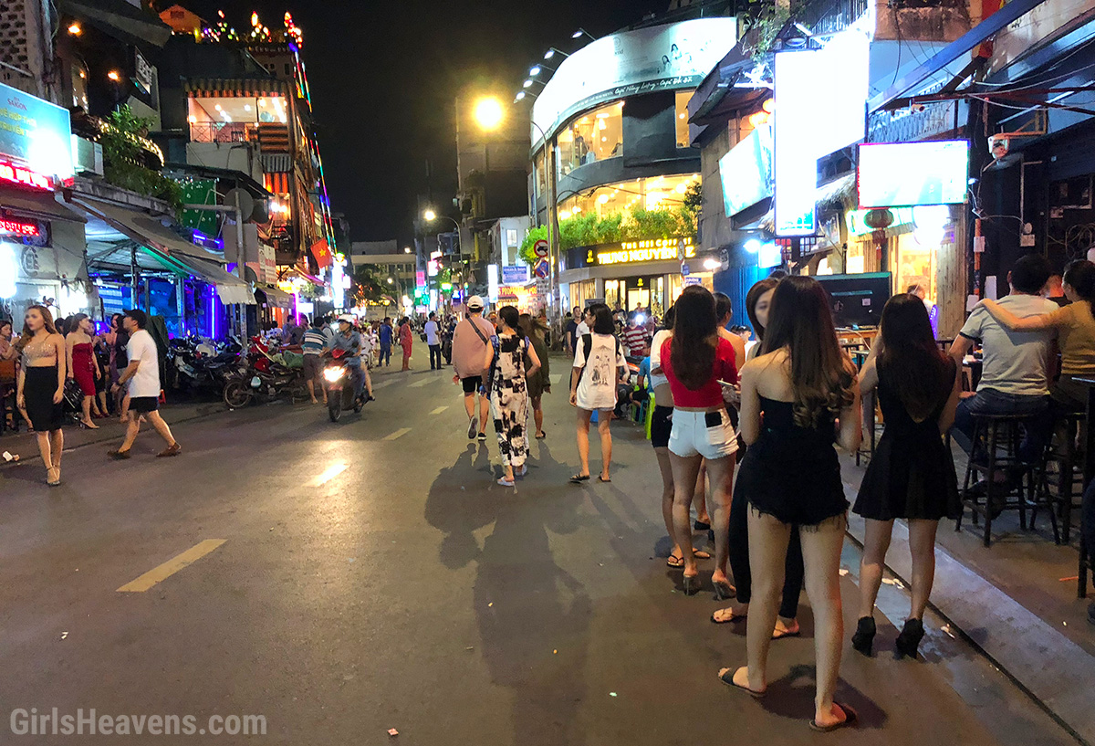 Saigon Red Light District
