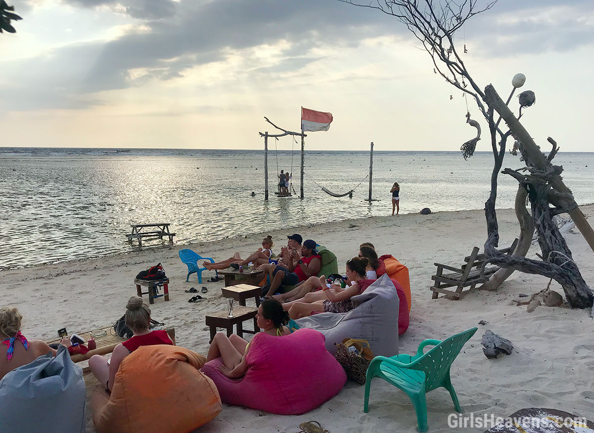 Sunset Bar on Gili Trawangan